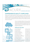 Acurx Integrated Solution Brochure