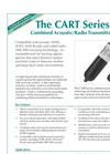 Model CART Series - Combined Acoustic Radio Transmitters- Brochure