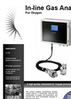 Dextens In-Line Gas Analyser O2 Technical Specification