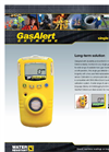 GasAlert Extreme Personal Single Gas Monitors - Technical Specification