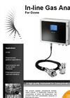 In-Line Gas Analyser O3 Technical Specification