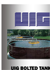 UIG Bolted Tanks for Water and Wastewater