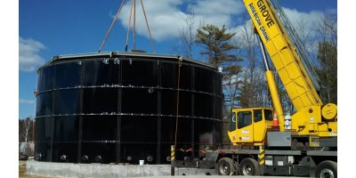 UIG - Glass Fused Bolted Steel Storage Tanks and Storage Silos