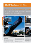 20ft / 40ft Container Tilter Loader Brochure