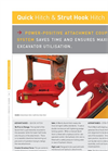 Quick Hitch & Strut Hook Hitch Brochure