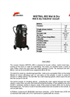 MISTRAL 802 Wet & Dry Vacuum Cleaners Brochure