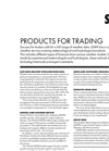 Products For Trading Brochure