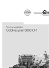Cold Recycler 3800 CR- Brochure