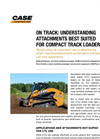 Compact Track Loaders TR320- Brochure