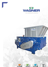 Wagner WS30 Universal Single Shaft Shredder