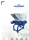 Wagner WTS 500 Universal TWIN Shaft Shredder