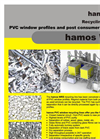 Hamos WRS - Window Recycling System