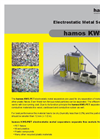Hamos KWS-PET ~ Metal Separation from PET & Other Plastic Flakes??