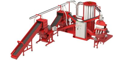 Copper Recovery - Model PHOENIX PLUS - Copper Wire Recycling Machine - Wire Chopper Machine