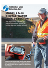 SubSurface LD-18 Digital Water Leak Detector - Brochure