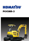 PC45MR-3 - Hydraulic Excavator Brochure