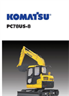 PC78US-8 - Hydraulic Excavator Brochure