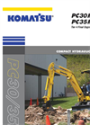 Komatsu - Model PC30MR-5 - Compact Hydraulic Excavator - Brochure