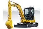 Komatsu - Model PC55MR-5 - Hydraulic Excavator