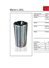 Model Myron Series - Compact Waste Separation System - Datasheet
