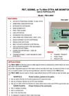 Model FM-9-ABNI - Portable PET, Iodine, or Tc-99M DTPA Air Monitor for Gas & Particulates - Brochure