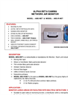 Alpha Beta Gamma - Model ABG-NET & ABG.R-NET - Network Air Monitor Datasheet