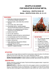 Model GR-A-B-C & D - Grapple Scanner for Radiation in Scrap Metal - Brochure