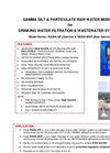Model RAWA-GP & RAWA-BGP - Gamma, Silt & Particulate Monitor for Raw Water & Waste Water - Brochure