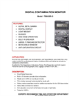 TA - Model TBM-3SR-D - Portable Digital Radiation Contamination Monitor - Brochure
