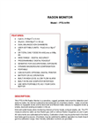 TA - Model PTG-9-RN - Radon Monitor - Brochure