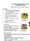 TA - Model SSS-12P-1/SSS-22P & SSS-22-PAL - Portable Liquid Scintillation Counting System - Brochure