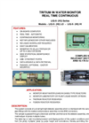 TA - Model LIQ-X- (H3) Series - Tritium in Water Monitor - Brochure