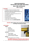 TA - Model Nex-Beta - Radiation Monitor For Water & Effluent Discharge - Brochure