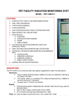 TA - Model PET-CAM-511 - Pet Facility Radiation Monitoring System - Brochure