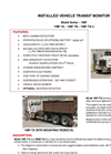 TA - Model VMF Series - Installed Vehicle Transit Monitor - Brochure