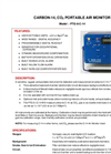 Model PTG-9-C-14 - Carbon-14, Co2 Portable Air Monitor Brochure