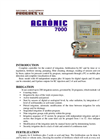 AGRONIC - Model 7000 - Hydroponic Fertigation Controller Brochure