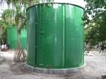 Apollo - Cylindrical Bolted Modular Galvanized Steel Storage Tank