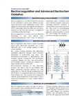 Global Advantech - Model TDS801 - Electrocoagulation and Advanced Electrochemical Oxidation - Datasheet