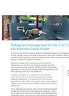 Whitepaper: Refrigerant Management for the 21st Century