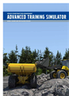 Training Simulators Brochure for Wheel Loaders & Articulated Haulers