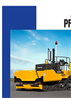 Blaw-Knox Tracked Asphalt Pavers PF4410 Series - Brochure
