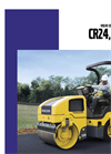 Small asphalt compactors CR24 Series - Brochure