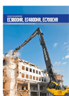 High Reach Demolition Excavators - Brochure