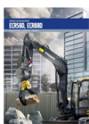 Model ECR88D - Short Swing Compact Excavators Brochure
