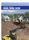 Model EW210D - Wheeled Excavators Brochure
