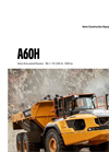 Model A60H - Articulated Haulers Brochure