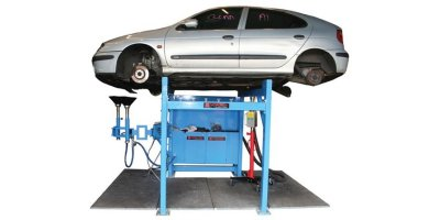 Combi Stand Vehicle Draining System