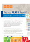 REACH 1 2 3 Software Tool - Brochure