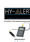 Hy-Alerta - Model 500 - Handheld Hydrogen Leak Detector Manual